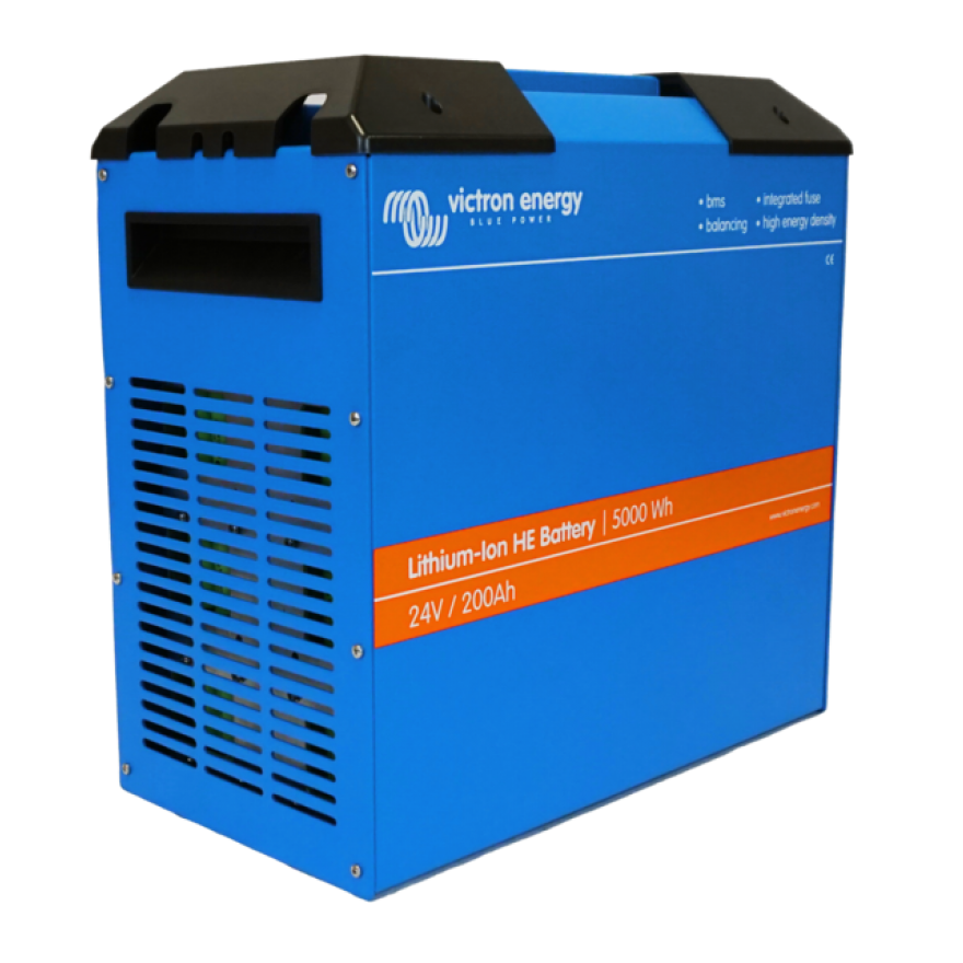 Victron Lithium-Ionen HE (High Energy) 24V/100Ah 2,50kWh